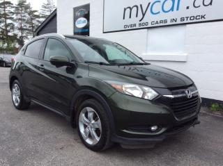 Used 2016 Honda HR-V EX-L LEATHER, SUNROOF, NAV, AWD, HEATED SEATS!! for sale in Richmond, ON