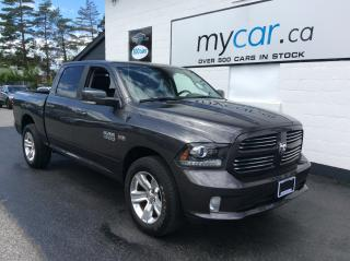 Used 2017 RAM 1500 Sport LEATHER, POWER SEAT, ALLOYS!! for sale in Kingston, ON