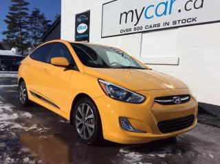 Used 2016 Hyundai Accent GLS SUNROOF, HEATED SEATS, SUPER LOW MILEAGE!! for sale in Richmond, ON