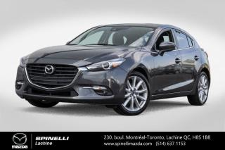Used 2018 Mazda MAZDA3 Sport GT TOIT OUVRANT BLUETOOTH SIEGES CHAUFFANTS Mazda 3 Sport GT 2018 for sale in Lachine, QC