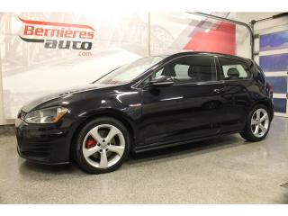 Used 2017 Volkswagen Golf GTI for sale in Lévis, QC