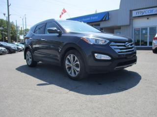 Used 2016 Hyundai Santa Fe Sport 2.0T SE LEATHER, PANORAMIC SUNROOF, HEATED STEERING WHEEL! for sale in Kingston, ON