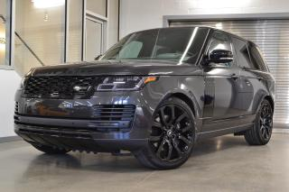 Used 2020 Land Rover Range Rover P525 5.0L V8 Supercharged HSE SWB for sale in Laval, QC
