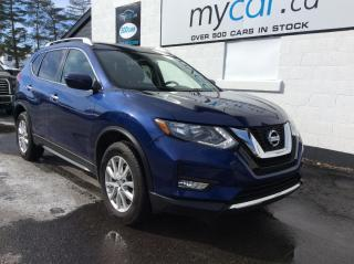 Used 2017 Nissan Rogue SV SUNROOF, HEATED SEATS, BACKUP CAM, ALLOYS!! for sale in Kingston, ON