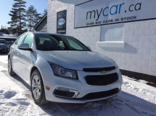 Used 2016 Chevrolet Cruze Limited 1LT BACKUP CAM, POWERGROUP, A/C, LOW KM!! for sale in Kingston, ON