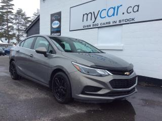 Used 2018 Chevrolet Cruze LT Auto HEATED SEATS, ALLOYS, BACKUP CAM!! for sale in Kingston, ON