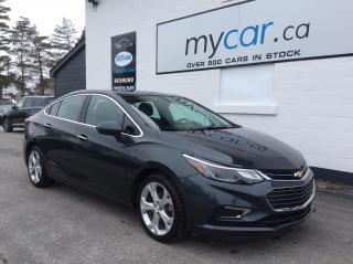 Used 2018 Chevrolet Cruze Premier Auto LEATHER, HEATED SEATS, BACKUP CAM!! for sale in Kingston, ON