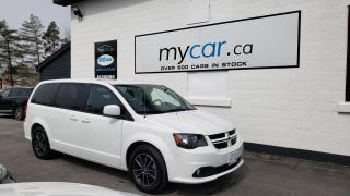 Used 2019 Dodge Grand Caravan GT LEATHER, HEATED SEATS, ALLOYS, PWR DOORS!! for sale in Kingston, ON