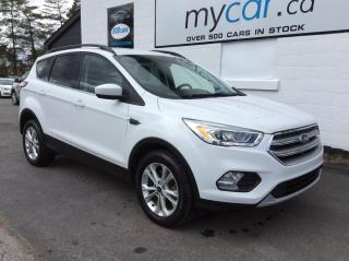 Used 2017 Ford Escape PWR SEAT, BIG SCREEN, BACKUP CAM, HEATED SEATS!! for sale in North Bay, ON