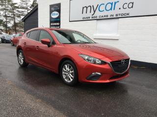 Used 2016 Mazda MAZDA3 GS SUNROOF, HEATED SEATS, BACKUP CAM, ALLOYS!! for sale in Kingston, ON