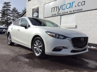 Used 2017 Mazda MAZDA3 GS NAV, HEATED SEATS/WHEEL, BACKUP CAM, BLUETOOTH!! for sale in North Bay, ON