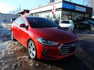 Used 2017 Hyundai Elantra GLS SUNROOF, HEATED SEATS, BACKUP CAM, BLUETOOTH!! for sale in North Bay, ON