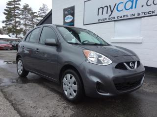 Used 2017 Nissan Micra SV BLUETOOTH, A/C, LOW KM'S!!!! for sale in North Bay, ON