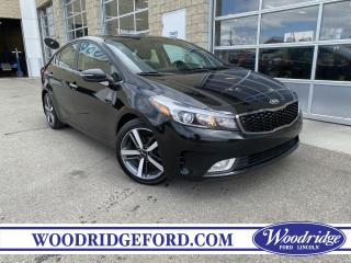 Used 2017 Kia Forte EX ***PRICE REDUCED*** 2.0L, LEATHER HEATED SEATS, AUTOMATIC, REMOTE START, NO ACCIDENTS for sale in Calgary, AB