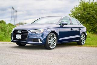 Used 2017 Audi A3 2.0T Progressiv <b>*LOCAL* *NO ACCIDENTS* *GREY LEATHER* *NAVIGATION*<b> for sale in Surrey, BC
