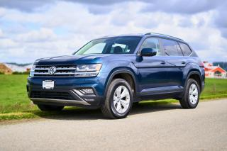 Used 2018 Volkswagen Atlas 2.0 TSI Comfortline <b>*REMOTE START* *FRONT ASSIST* *VEGAN LEATHER* *BLIND SPOT INDICATORS* *HEATED WHEEL*<b> for sale in Surrey, BC