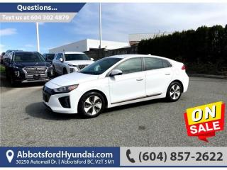Used 2019 Hyundai IONIQ Electric Preferred - One owner - $176 B/W for sale in Abbotsford, BC