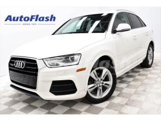 Used 2016 Audi Q3 Progressiv Quattro 2.0T *Toit-Pano-Roof for sale in St-Hubert, QC