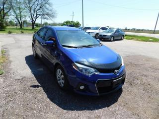 Used 2016 Toyota Corolla S | Cruise | Bluetooth | Backup Camera for sale in St. Thomas, ON