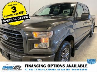 Used 2017 Ford F-150 XLT FX4, HEATED LEATHER, SUNROOF, NAV.. for sale in Calgary, AB
