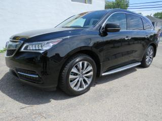 Used 2016 Acura MDX SH-AWD NAVIGATION 7 PASSAGER CUIR CAMERA MAGS 19 for sale in St-Eustache, QC
