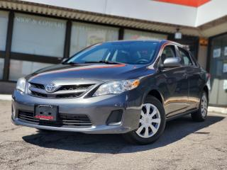 Used 2012 Toyota Corolla CE| Power Window | Cruise | Certified for sale in Waterloo, ON