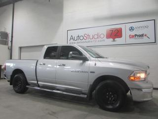 Used 2012 RAM 1500 Cabine quad 4RM, 140,5 po SLT for sale in Mirabel, QC
