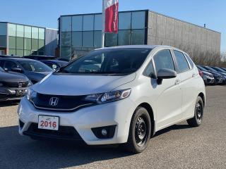 Used 2016 Honda Fit EX Accident Free, One Owner Fit Leased New Right Here at Waterloo Honda! Certified Powertrain Warranty for sale in Waterloo, ON