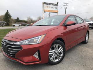 Used 2020 Hyundai Elantra Preferred w/Sun & Safety Package Sun and Safety Pack with Sunroof, Lane Departure, BlindSpot Detect, Heated Steering, Heated Seats, B for sale in Kemptville, ON