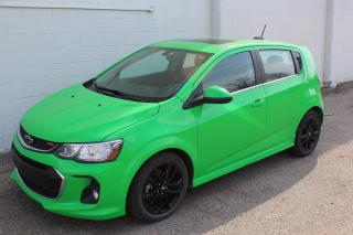 Used 2017 Chevrolet Sonic LT Auto RS MODEL SUNROOF for sale in Regina, SK