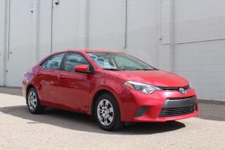 Used 2016 Toyota Corolla LE GUARANTEED APPROVAL for sale in Regina, SK