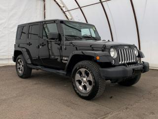 Used 2017 Jeep Wrangler Unlimited Sahara NAVIGATION, FACTORY REMOTE STARTER, 6.5 TOUCHSCREEN, SIDE STEPS for sale in Ottawa, ON