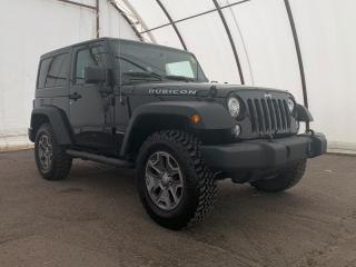 Used 2018 Jeep Wrangler JK Rubicon LEATHER TRIMMED BUCKET SEATS, NAVIGATION, ALPINE AUDIO, DUAL TOP GROUP, for sale in Ottawa, ON