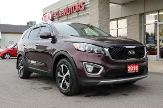 Used 2016 Kia Sorento 2.0L EX LEATHER | AWD | REVERSE CAMERA for sale in Cobourg, ON