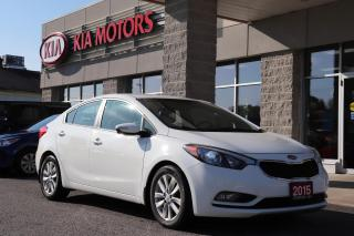 Used 2015 Kia Forte LX+ Winter Edition HTD STEERING WHEEL | FRONT AND REAR HTD SEATS | BLUETOOTH CONNECTION for sale in Cobourg, ON