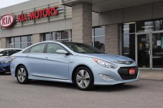 Used 2013 Hyundai Sonata Hybrid Limited HEATED SEATS | REVERSE CAMERA | SUNROOF for sale in Cobourg, ON