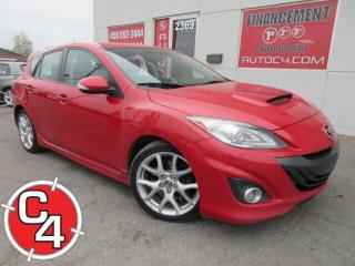 Used 2012 Mazda MAZDA3 MAZDASPEED3 2.0L TURBO CUIR MAGS HATCHBACK for sale in St-Jérôme, QC