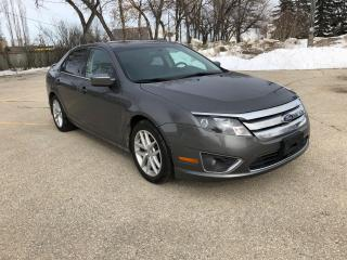 Used 2011 Ford Fusion SEL nice Tires! Remote Start! Bluetooth for sale in Winnipeg, MB