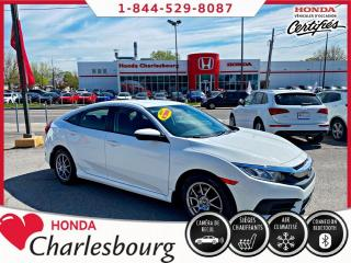 Used 2016 Honda Civic LX **AUCUN ACCIDENT**UN PROPRIÉTAIRE** for sale in Charlesbourg, QC