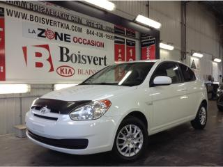 Used 2010 Hyundai Accent ACCENT AUTOMATIQUE A/C DÉMARREUR DISTANCE for sale in Blainville, QC
