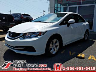 Used 2013 Honda Civic LX 4 portes, boîte automatique for sale in Sorel-Tracy, QC