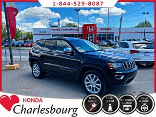 Used 2017 Jeep Grand Cherokee LIMITED 4X4 **UN PROPRIÉTAIRE**AUCUN ACC for sale in Charlesbourg, QC