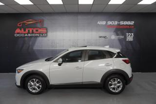 Used 2016 Mazda CX-3 GS-L AWD AUTO CUIR TOIT OUVRANT CAMERA 42 005 KM for sale in Lévis, QC