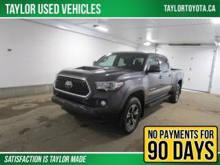 Used 2018 Toyota Tacoma SR5 TRD Sport for sale in Regina, SK
