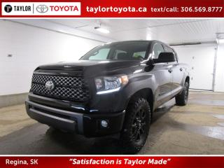 New 2020 Toyota Tundra customized Blackout Edition for sale in Regina, SK