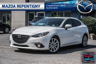 Used 2016 Mazda MAZDA3 4DR SDN AUTO GT for sale in Repentigny, QC