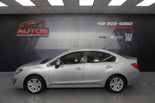 Used 2016 Subaru Impreza AWD TOURING PKG 5 VITESSES CAMERA BLUETOOTH 66 830 for sale in Lévis, QC