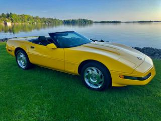 Used 1995 Chevrolet Corvette Only 31500 km 6 speed manual (New Condition) for sale in Perth, ON