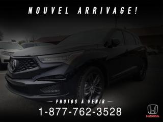 Used 2020 Acura RDX A-SPEC + AWD + NAVI + COMME NEUF + WOW! for sale in St-Basile-le-Grand, QC