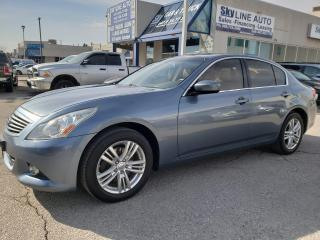 Used 2010 Infiniti G37 X Luxury AWD|CAMERA|BLUETOOTH|LEATHER|SUNROOF for sale in Concord, ON